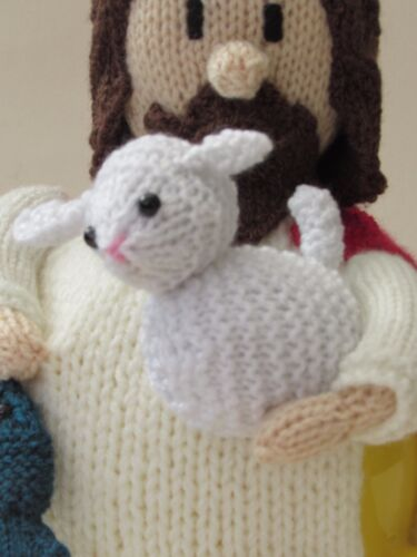 Jesus Tea Cosy Knitting Pattern to knit your own Jesus for Easter