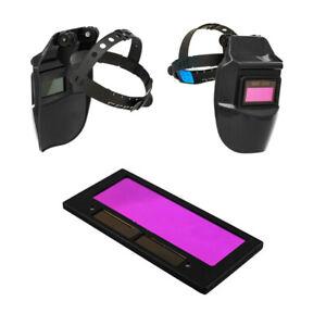 Auto-Solaire-Automatique-Verre-de-Protection-Soudage-Casque-Lens