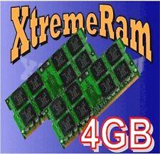 4GB Kit 2x 2GB DDR2 667 MHz PC2-5300 Sodimm Memory for IBM Lenovo HP Dell Laptop