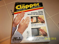 vtg The Clapper Clap On & Off Original In Box - Unused SEALED 1984 80s Rare