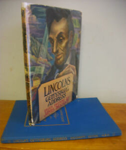 LINCOLN-039-S-GETTYSBURG-ADDRESS-Illustrated-by-James-Daugherty-1947-1st-Ed-in-DJ