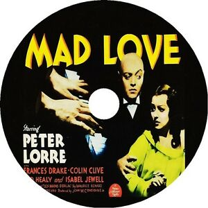 Mad-Love-DVD-Peter-Lorre-Frances-Drake-Colin-Clive-V-Rare1935