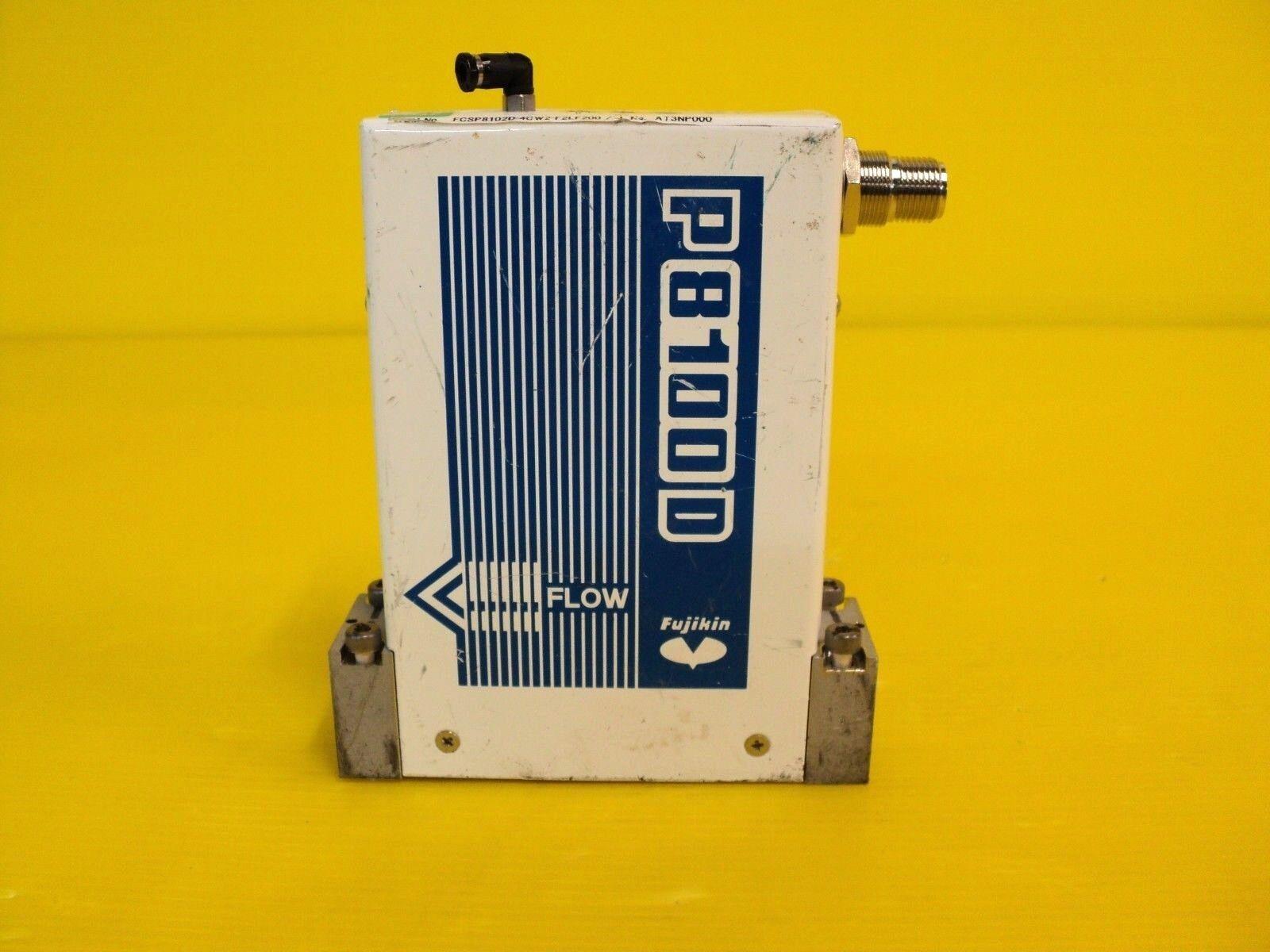FUJIKIN P8100D FCSP8102D-4CW2-F2LF200 MASS FLOW CONTROLLER P 8100 D