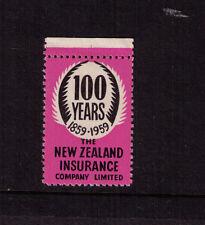 NEW ZEALAND 1959 (-) Pink N.Z. I.Co. Centenary CINDERELLA - Heslop cat $50 MUH