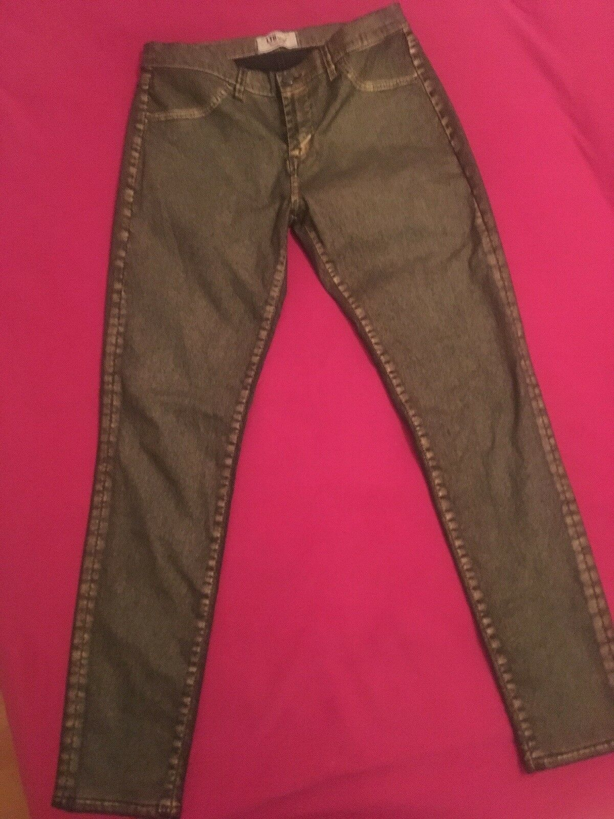LTB Jeans 30 32, Mid rise, Super Slim, gold Coated