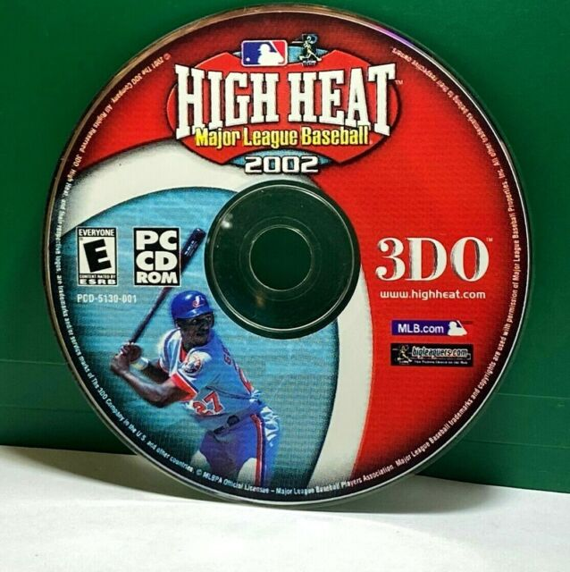 High Heat Major League Baseball 2002 (PC, 2001) (NO CODE) DISC ONLY # 36050
