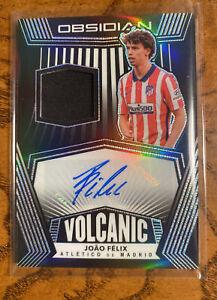 2020-21 Obsidian soccer Joao Felix Volcanic Jersey Autograph /20