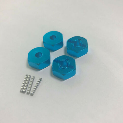 4pcs Metal Hex Combiner 7MM to 12MM Wheel for WLtoys A949 A959 A969 A979 RC Car