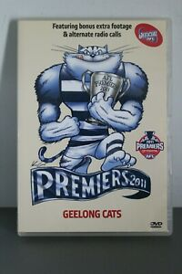 DVD-PREMIERS-2011-GEELONG-CATS-1-DISC-VGC-OFFICIAL-AFL-FOOTBALL