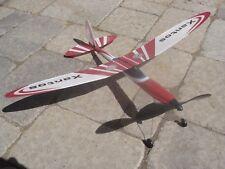 NIB Gunther Xantos rubberband powered airplane- Huge, superb flyer