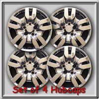 4 16 Chrome Bolt On Nissan Altima Hubcaps Fits 2009-2012, Altima Wheel Covers
