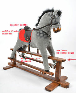 AMIGO-Handmade-Brand-New-LARGE-Rocking-cheval-a-bascule-from-ALANEL