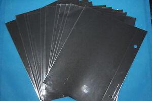 Trophy TR9412 Clear Windows for TR9400 Flip Folders, Pack of 12