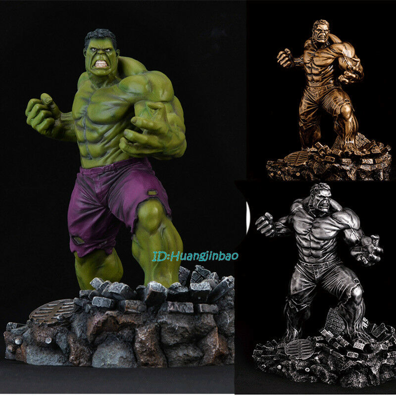 Avengers2 Hulk Painted GK Resin Painted Statue Robert Bruce Banner Sculpture Nuovo