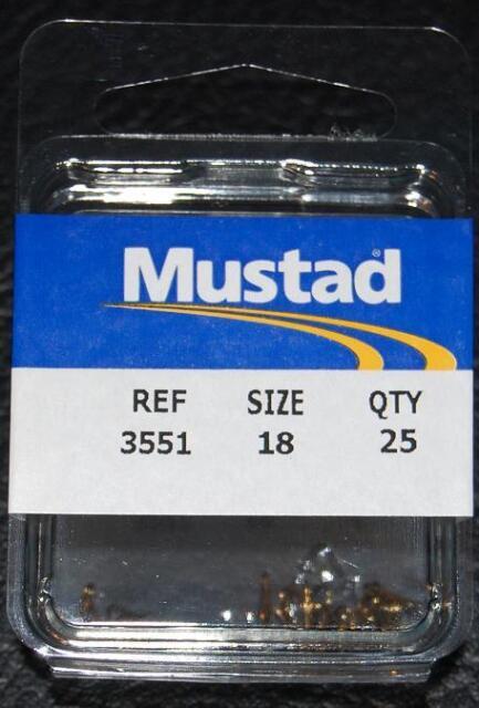 Mustad Treble Size 14 Qty 3551 25  Ref