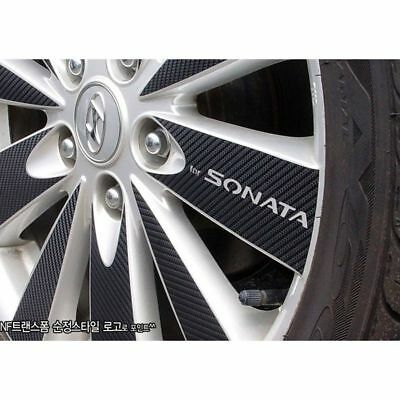 NEW Carbon Tuning Wheel Sticker for Hyundai NF Sonata Transform 2008-09 17/""