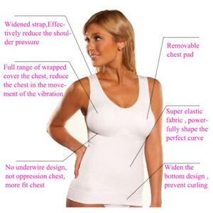bc21c526defa5 Women Body Shaper Genie Bra ShapeWear Tank Top Slimming Camisole ...