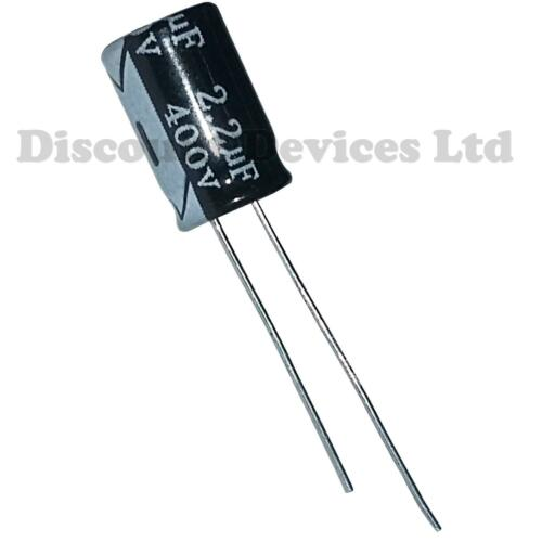 Condensatore ELETTROLITICO 2.2uF 400V 105C