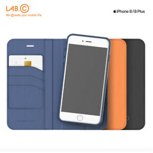 newest 0a905 a6584 Details about Lab.C Korea Smart Wallet 2 In 1 Leather Cover Cell Phone Case  for iPhone 8 8Plus