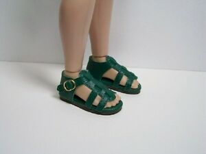 "PURPLE Strappy Sandals Doll Shoes For Tonner 14/"" Betsy McCall DEBs"