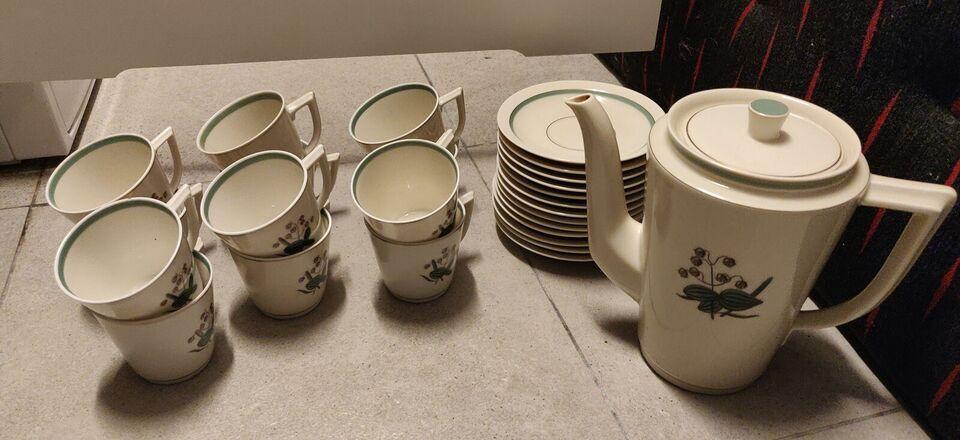 Porcelæn, Kaffestel, Royal Copenhagen