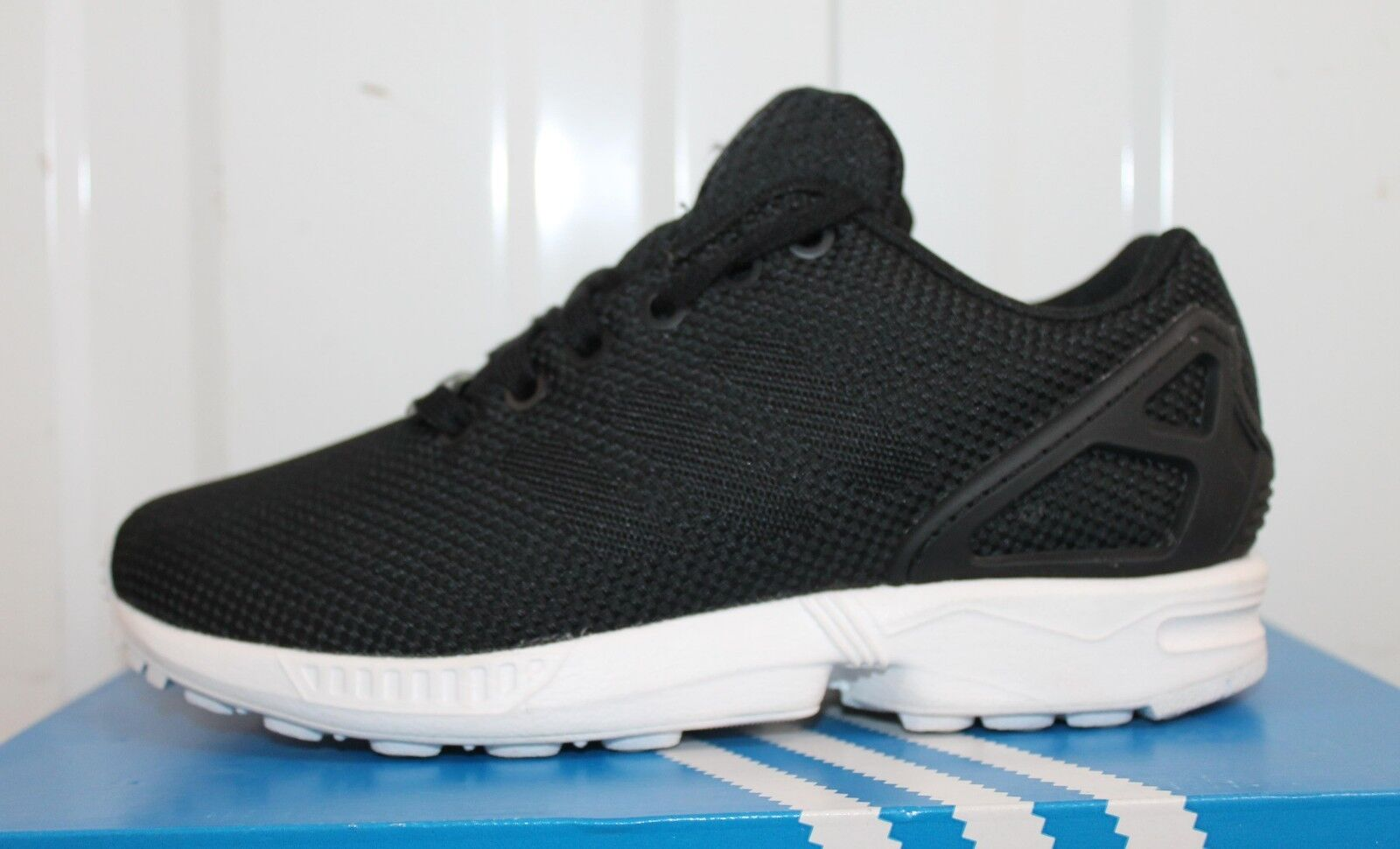 new products db428 e8ebe ... JUNIOR,S WEAVE ADIDAS ORIGINALS ZX FLUX WEAVE JUNIOR,S noir CARBON ...