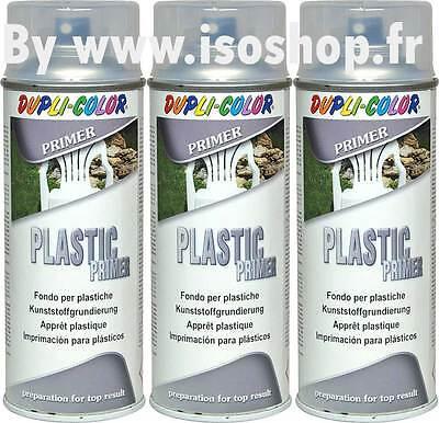 dupli color arosol de peinture primaire apprt plastique spray 3x400ml - Dupli Color Bombe Peinture