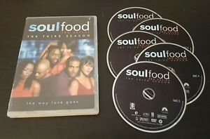 Soul Food The Complete Third Season Dvd 2008 3 Tv Show Series