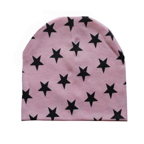 Toddler Baby Infant Star Winter Warm Crochet Knit Hat Kids Girl Boy Beanie Cap