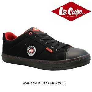 1ee71606ee9 Details about MENS LEE COOPER LEATHER SAFETY WORK BOOTS STEEL TOE CAP SHOES  TRAINERS SIZE 3-13