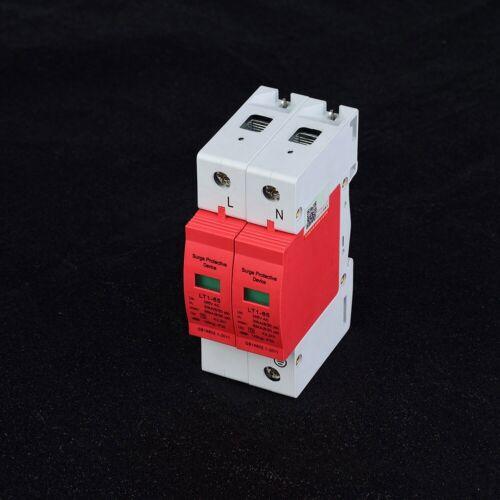 Lightning Protect Low-voltage Arrester Device AC surge protector 40KA//65KA 385V