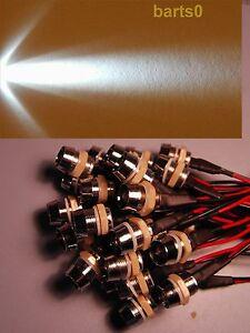 ►2X Standlicht Parkinglight 1W POWER LED BAX9S GRÜN Fassung BAX9S H6W NEU