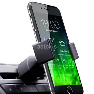 360 Car Auto CD Slot Mount Cradle Holder Stand For Mobile Smart Cell Phone GPS