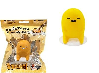 Scented Hiding Gudetama The Lazy Egg SQUISHME Squishy Stress Ball Soft #8