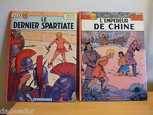 ALIX-Le-dernier-spartiate-1977-et-L-039-Empereur-de-Chine-1983