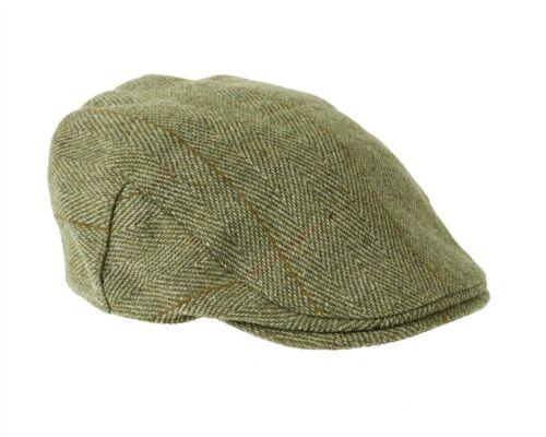 Fox Derby Tweed Flat Cap