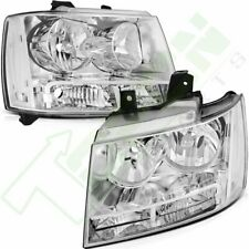 For Chevy Suburban 2007 2014 Halogen Headlights Assembly Lamps Front Leftright Fits 2007 Chevrolet Suburban 1500