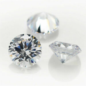 Cubic-Zirconia-Loose-Stones-Clear-Crystal-CZ-Round-Brilliant-Round-100-FS202A