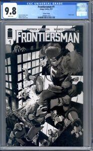 Frontiersman #1  Scalera Sketch Variant  Image Comics  1st Print  CGC 9.8
