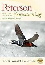 Peterson Reference Guide to Seawatching: Eastern Waterbirds in Flight -ExLibrary