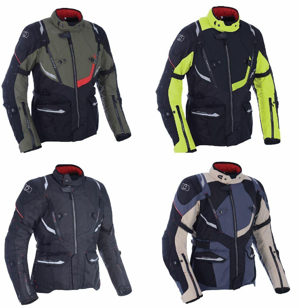 Oxford Montreal 3.0 Motorrad Textiljacke Milit/ärgr/ün 3XL