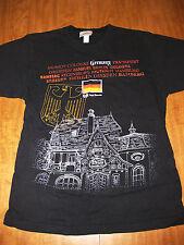 EPCOT CENTER retro med T shirt Walt Disney World Germany flag Frankfurt Munich