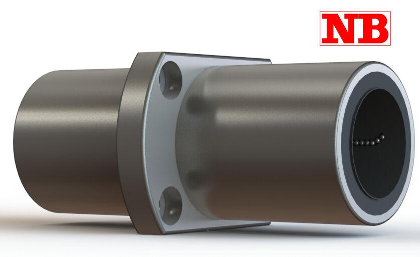 TRFC6UU NB 6mm Slide Bush Bushings Miniature Motion Linear Bearings 21101