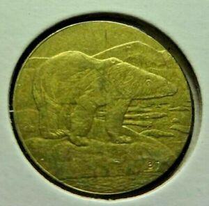 2019 BU $2 Canada Two Dollar Polar Bear Brillant Uncirculated Coin MS