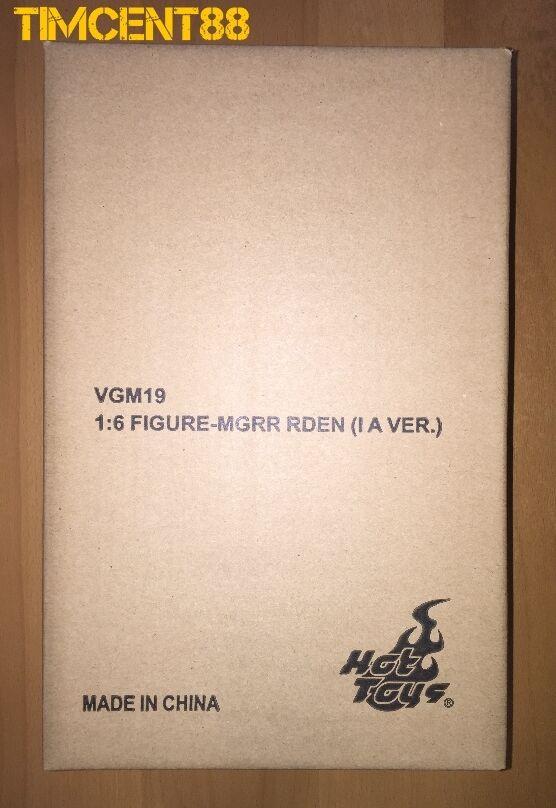 Hot Toys VGM19 Exclusive Metal Gear Rising Revengeance Raiden Inferno Armor