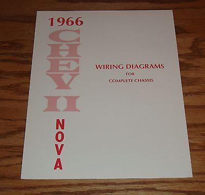 1966 Chevrolet Chevy II Nova Wiring Diagram Manual for ...