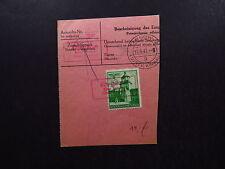 Notpaketkarte Generalgouvernement Ryglica Tarnow Distr. Krakau 1941
