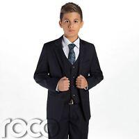 Boys Navy Suit, Boys Wedding suits, Page Boy Suits, Suits for Boys, Kids Suits