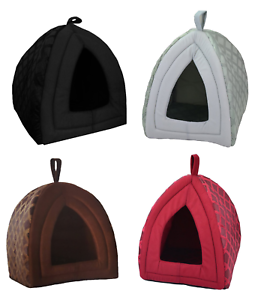 Quality-Pet-Igloo-House-Cat-Dog-Lair-2-Sizes-All-Colours