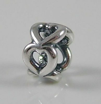 GENUINE 925 STERLING SILVER PANDORA HEART SPACER CHARM